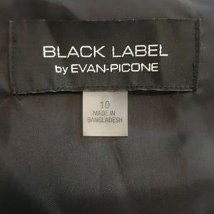 Black Label Dresses - Sleeveless A-Line Evan Picone